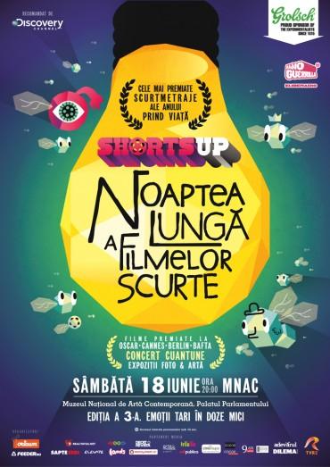 Noaptea Lunga a Filmelor Scurte, la a 3-a editie