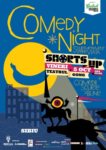 ShortsUP Comedy Night vine la Sibiu