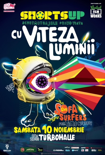 ShortsUP Cu viteza luminii - poster