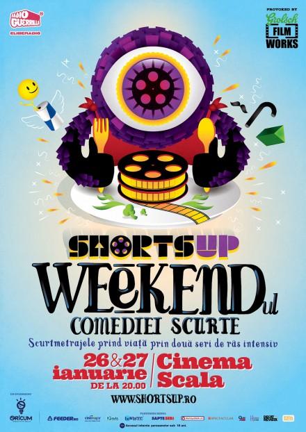 ShortsUP Weekendul Comediei