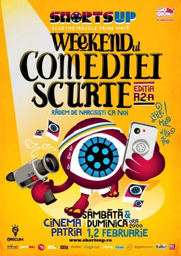 Weekendul Comediei Scurte la a 2-a editie