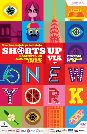 ShortsUP via New York, in aprilie la CinemaPRO