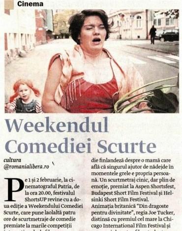 Weekendul Comediei Scurte 2014