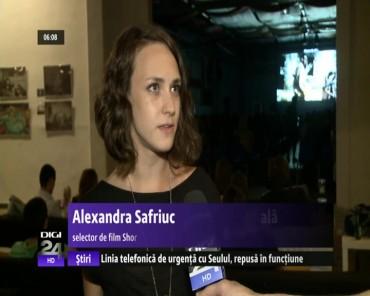 Noaptea Lunga a Filmelor Scurte la a 5-a editie