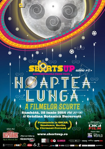 Noaptea Lunga a Filmelor Scurte 2014 la Gradina Botanica