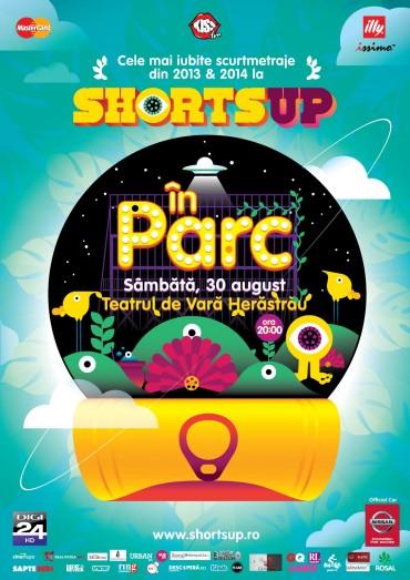 """""""ShortsUP In Parc"""" la Teatrul de Vara Herastrau"""