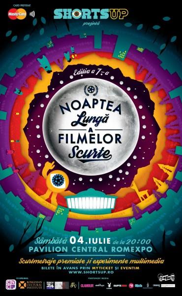 Noaptea Lungă a Filmelor Scurte la ediţia a 7-a