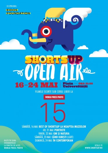 ShortsUP Open Air la World Press Photo 2015