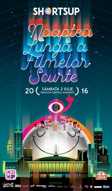 Noaptea Lunga a Filmelor Scurte, ediția 8, va avea loc pe 2 iulie