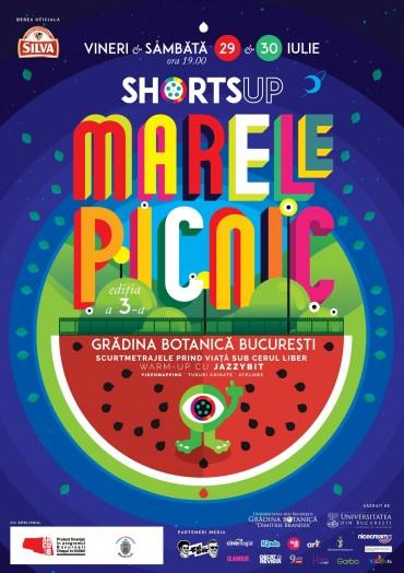 Marele Picnic ShortsUP, ediția 3, la Grădina Botanică București